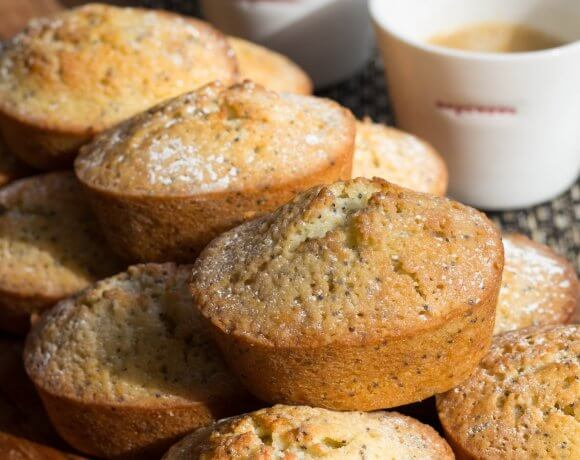 Lemon and Poppyseed Friands
