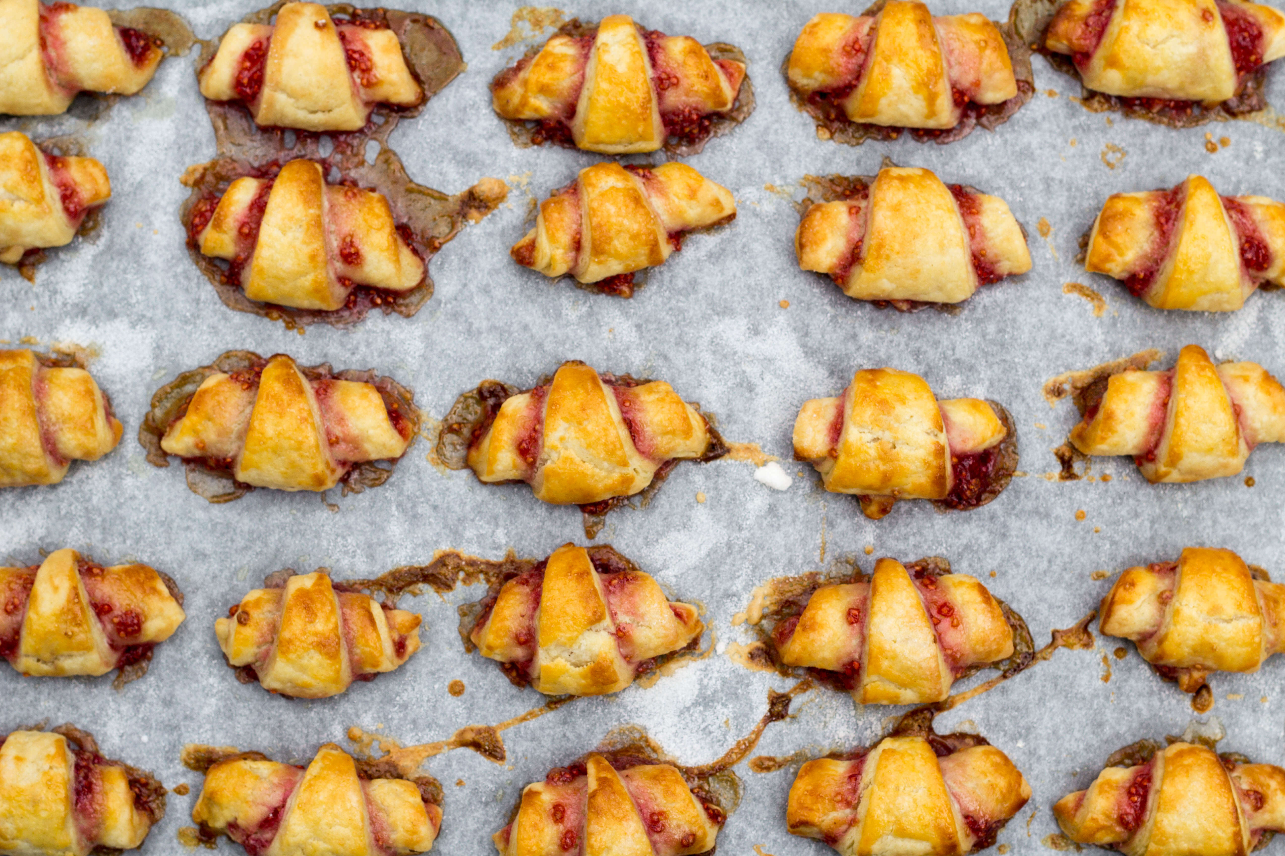 rugelach cooked