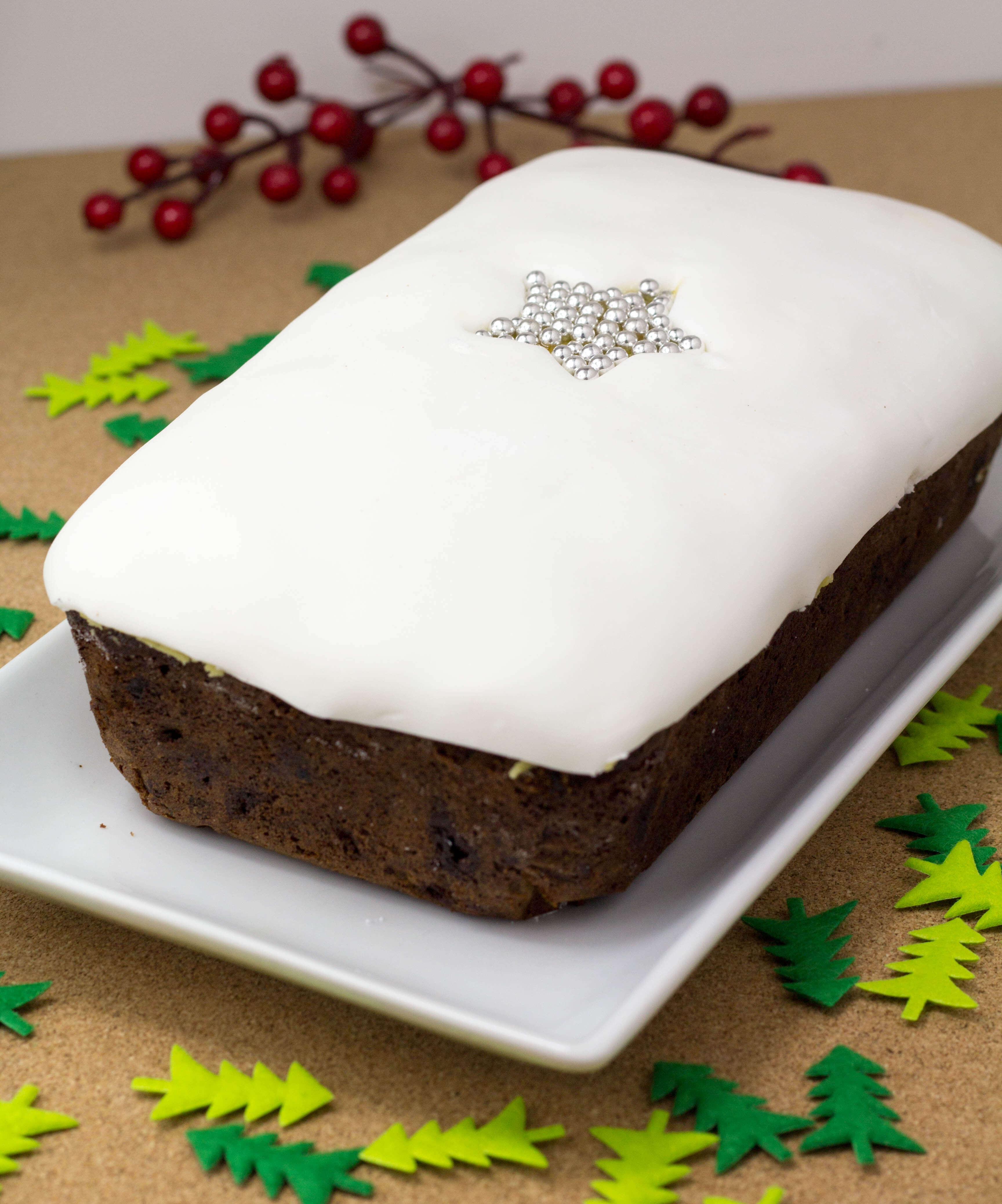 Recipe For Christmas Cake In A Loaf Tin